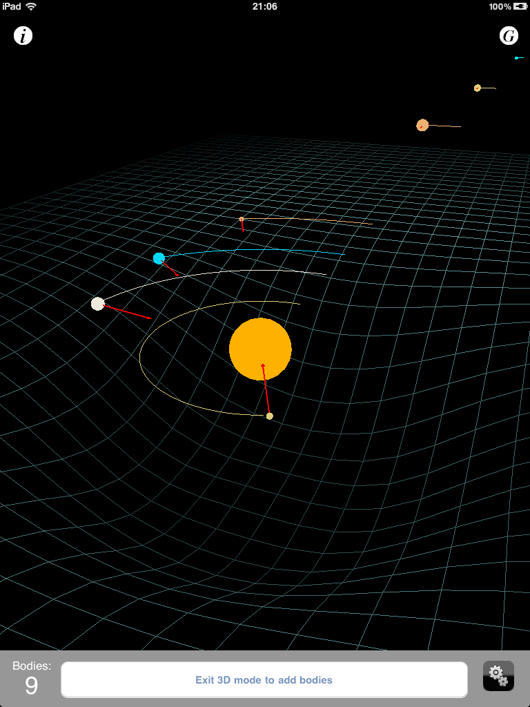 gravity planets solar system - photo #3
